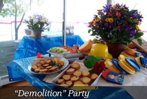 Demolition-party